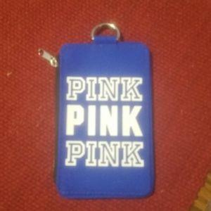 PINK ID Holder